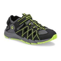 Merrell Cipő MK263196 HYDRO QUENCH szürke / fekete / lime, MK263196 | Egyesült Királyság C13 32 EUR