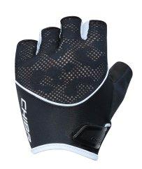 CHIBA Cyklistické rukavice pro ženy Lady Gel černé/bílé