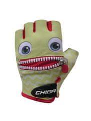 CHIBA Cyklistické rukavice pro děti Cool Kids Tvář