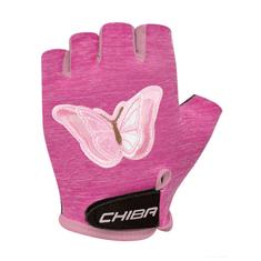 CHIBA Cyklistické rukavice pro děti Cool Kids Motýl