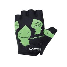 CHIBA Cyklistické rukavice pro děti Cool Kids Duchové