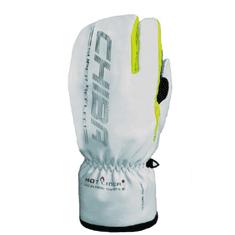 CHIBA Zimní cyklistické rukavice pro dospělé Alaska Plus reflexní šedé