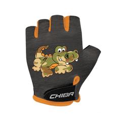 CHIBA Cyklistické rukavice pro děti COOL KIDS Krokodýl