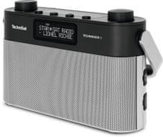 Technisat TECHNIRADIO 8, stříbrná/černá