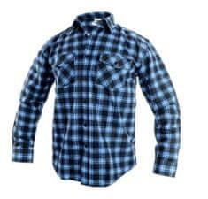 Canis CXS TOM pánská košile modro/černá vel.43/44