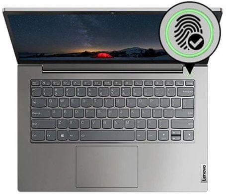 Notebook Lenovo ThinkBook 14 G2 ITL (20VD0077CK) 14 palců displej dolby audio thinkshutter