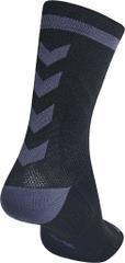 Hummel HUMMEL 204043-Ponožky ELITE INDOOR SOCK LOW Velikost: 27/30, barva: 1006-černá/asfalt