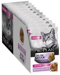Purina Pro Plan karma mokra dla kotów Cat DELICATE z indykiem w sosie 26x 85 g