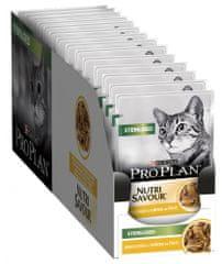 Purina Pro Plan karma mokra dla kota Cat STERILISED z kurczakiem w sosie 26x 85 g