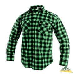Canis CXS TOM pánská košile zeleno-černá vel.47/48