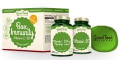 GreenFood Box Immunity + Pillbox