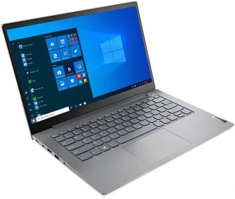 Notebook Lenovo ThinkBook 14 G2 ITL (20VD0077CK) 4jádrový procesor Intel Core i7 16 GB RAM DDR4 SSD 1000 GB 14 palců IPS displej Full HD Anti-Glare