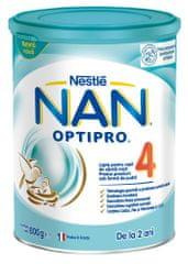 NAN Optipro 4 nadaljevano mleko za majhne otroke, 800 g