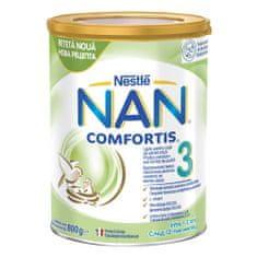 NAN Comfortis 3 nadaljevalno mleko za majhne otroke, 800 g