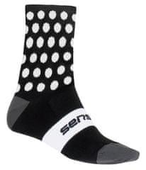 Sensor DOTS dječje čarape, crne, 33/34