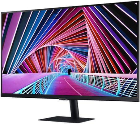 monitor Samsung T85F (LF27T850QWUXEN) IPS panel IPS jakość obrazu, realistyczne kolory, kąty widzenia