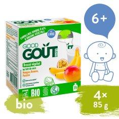 Good Gout BIO Kokosový dezert s exotickým ovocím (4x85 g)
