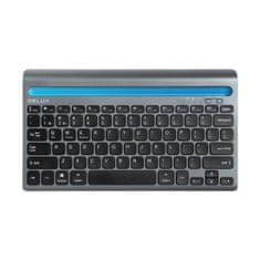 DELUX K2201V bluetooth klávesnica, čierna