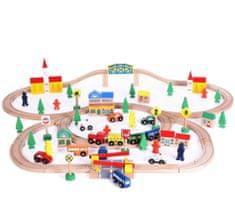 Wooden Toys Drevená vláčkodráha