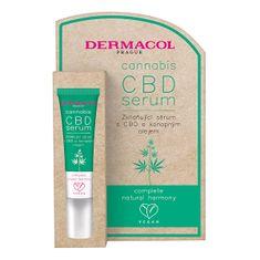 Dermacol Upokojujúce pleťové sérum s CBD a konopným olejom Cannabis (CBD Serum) 12 ml
