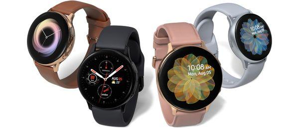 Samsung Galaxy Watch Active2 chytré hodinky, elegantný, dizajnové, hliníkové