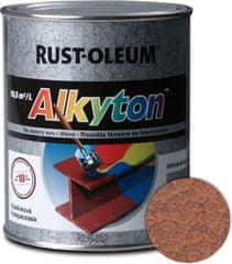 Alkyton  kladivková medená 5l - samozákladový email na kov, drevo a betón