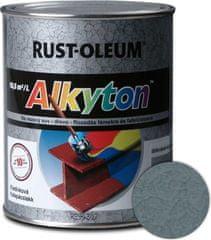 Alkyton  kladivková šedá 750ml - samozákladový email na kov, drevo a betón