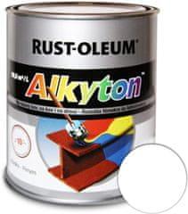 Alkyton  lesklá biela signálna RAL9003 750ml