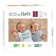 ECO by Naty Natahovací plenkové kalhotky 5 Junior (12-18 kg) 20 ks
