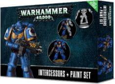 Games Workshop Warhammer 40,000: Intercessors + Paint Set
