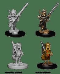WizKids D&D Nolzur's Marvelous Miniatures: Halfling Fighter M
