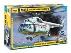 Zvezda Mi-8 Rescue Helicopter 1/72