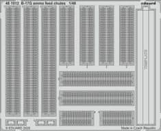 EDUARD B-17G ammo feed chutes lepty 1/48