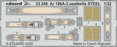 EDUARD Ar 196A-3 seatbelts STEEL lepty 1/32