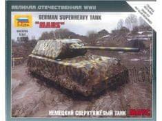 Zvezda German Superheavy Tank Maus 1/100