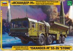 Zvezda Ballistic Missile System Iskander-M SS-26 (STONE) 1/72