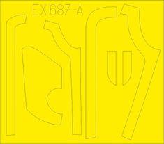 EDUARD B-17G antiglare panels (DL & BO production) masky 1/48