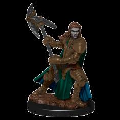 WizKids D&D Icons: Half-Orc Fighter Female Premium Miniature