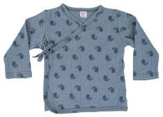 Lodger chłopięca koszulka kopertowa Topper LS Flame Tribe Ocean