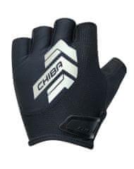 CHIBA Cyklistické rukavice pro dospělé Rexlex černé