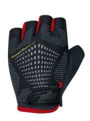 CHIBA Cyklistické rukavice pro dospělé Road Master černé/červené