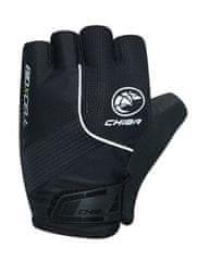 CHIBA Cyklistické rukavice pro dospělé BioXCell Classic černé