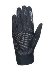 CHIBA Cyklistické rukavice pro dospělé Superlight černé