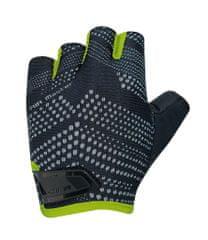 CHIBA Cyklistické rukavice pro dospělé Air Master černé/zelené