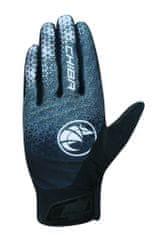 CHIBA Cyklistické rukavice pro dospělé BioXCell Touring tmavošedé/bílé