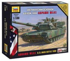 Zvezda Abrams M1 A1 1/100