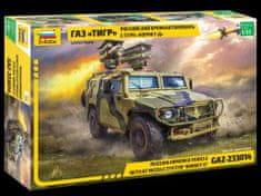 """Zvezda GAZ with AT missile system """"Kornet D"""" 1/35"""