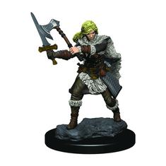 WizKids D&D Icons: Human Female Barbarian Premium Figure