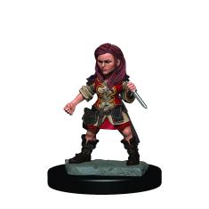 WizKids D&D Icons: Halfling Female Rogue Premium Figure