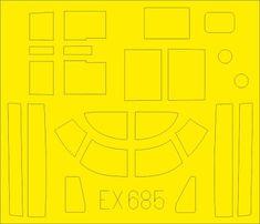 EDUARD A-26B masky 1/48